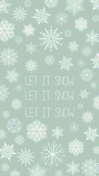 Let It Snow Wallpaper