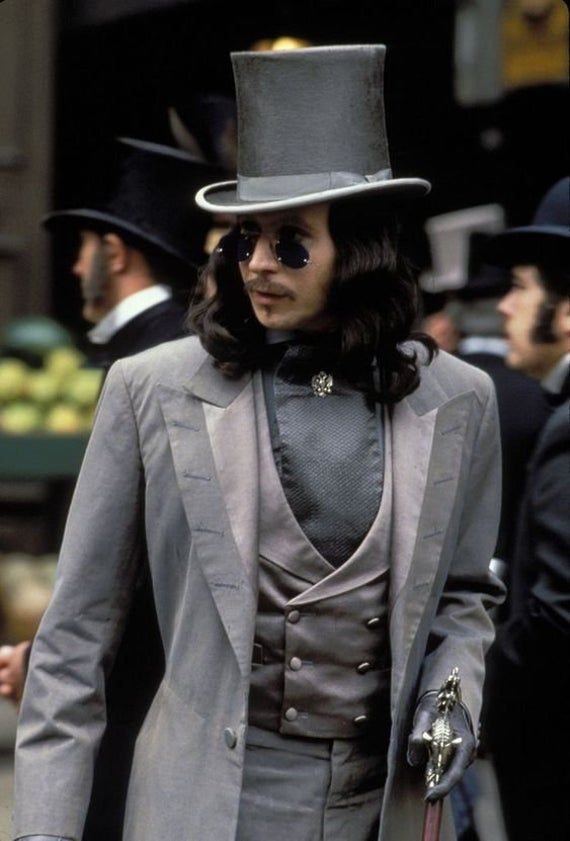Bram Stoker's Dracula costume for men, Gothic Victorian styled costume, Vampire cosplay, Pre-order