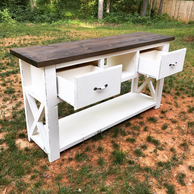 10++ Farmhouse entry table with drawers ideas in 2021