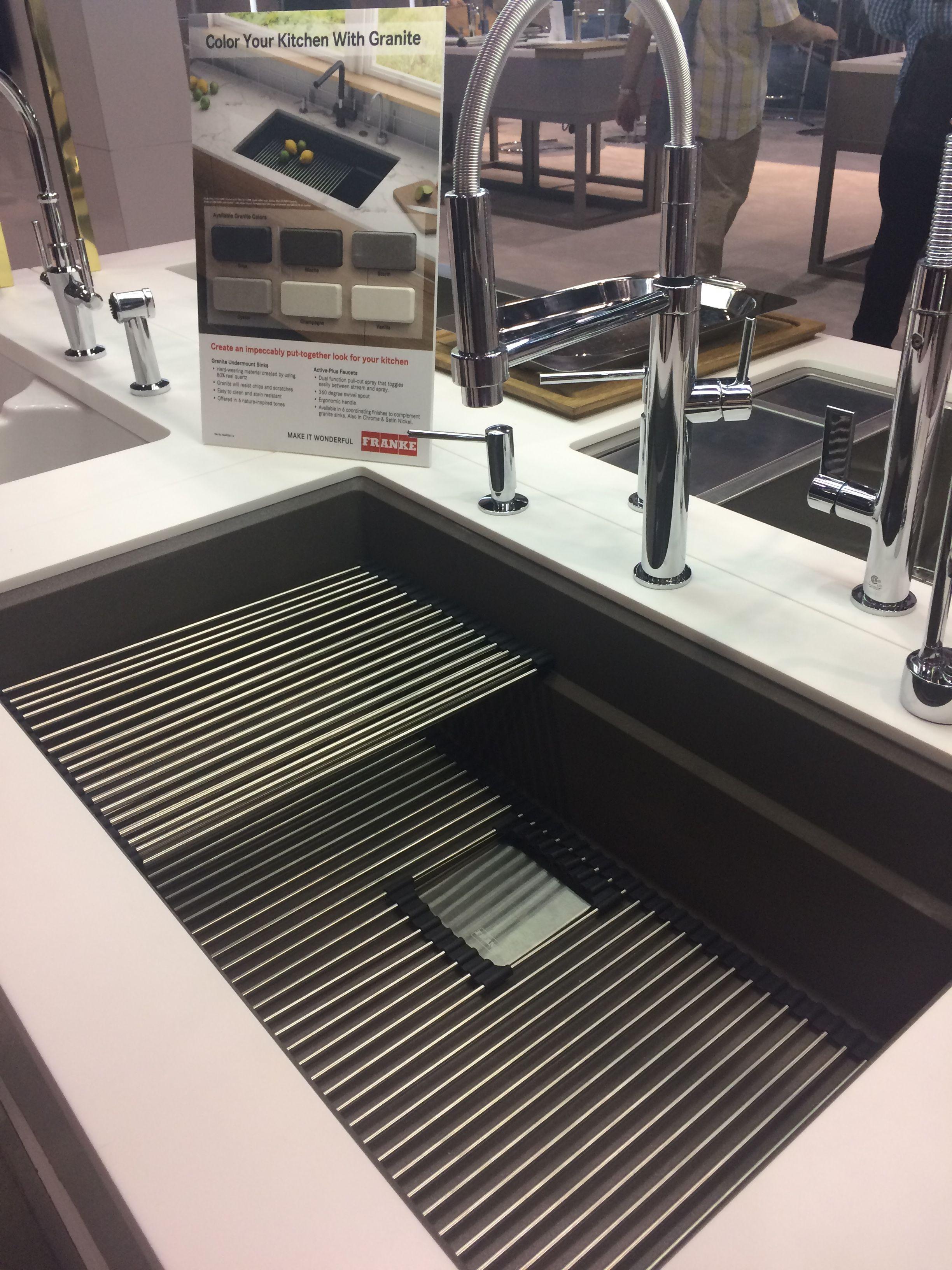 New Kitchen Sink From Frankekitchenus Kitchen Sink Decor Kitchen Sink Caddy Modern Kitchen Accessories