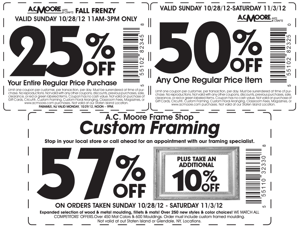 Famous Ac Moore Framing Coupon Images - Picture Frame Design ...