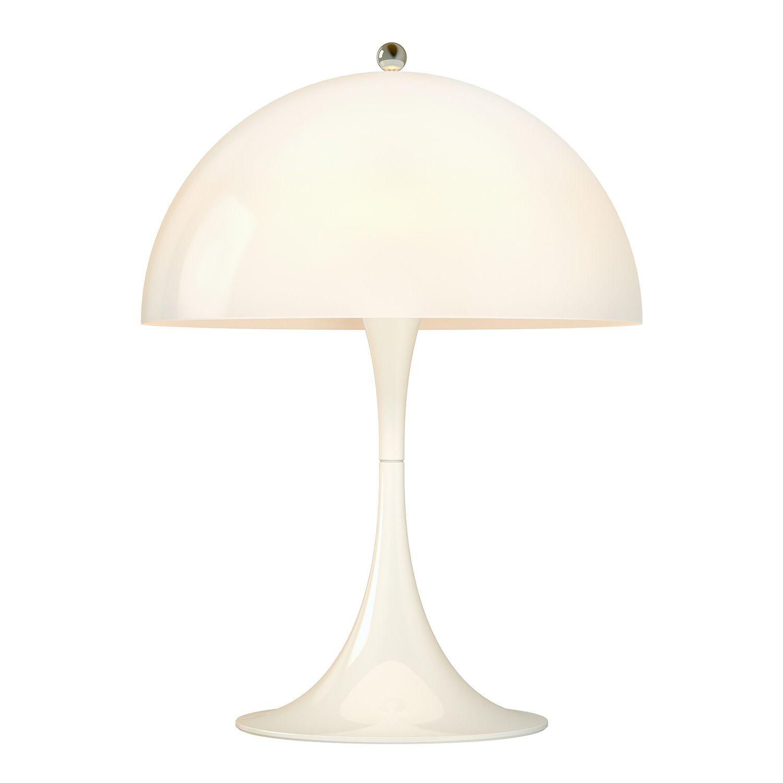 Panthella Mini Table Lamp Opal 136 Lampes De Table Lampe De Table Blanche Lampe