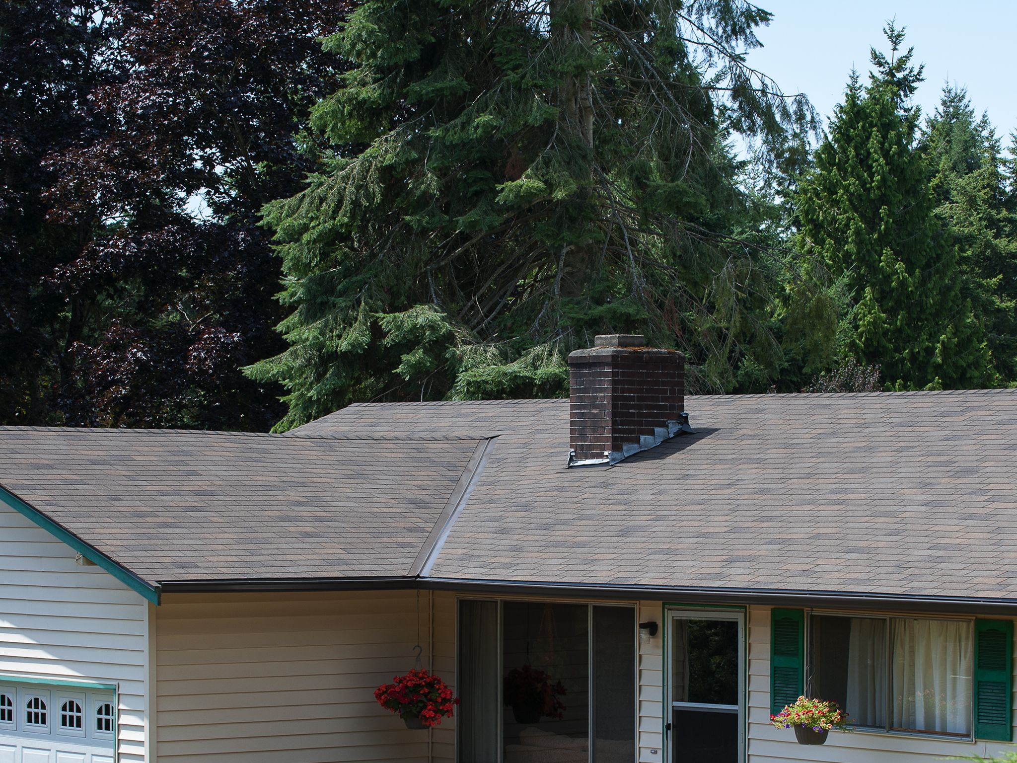 Oakwood Tahoma 3tab Asphalt Roofing Shingles Pabcoroofing Cheap Roofing Roof Architecture Roof Shingles