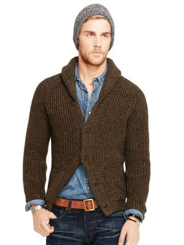 Denim & Supply Cotton Shawl Cardigan - Denim & Supply Cardigans ...