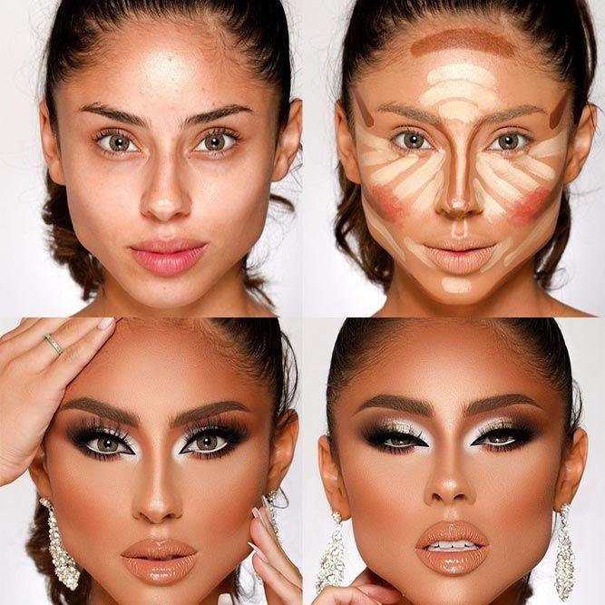 Photo of cool makeup