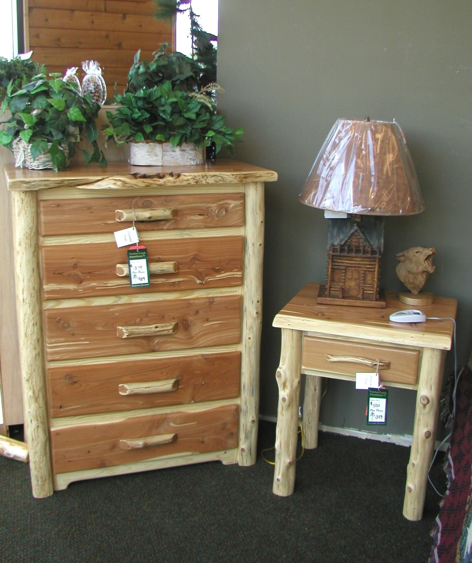 Log Furniture | Red Cedar Log Furniture Hand Made In Arkansas Of Solid Red  Cedar Wood