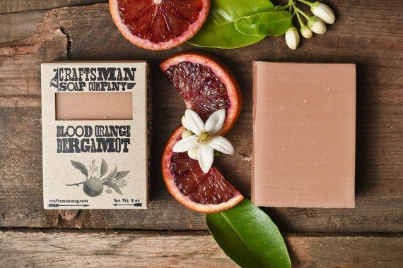 Bergamot Orange. Citrus Bar Soap. 100% All-Natural Handmade.