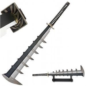 Even if this is a replica it still has a wicked looking blade.