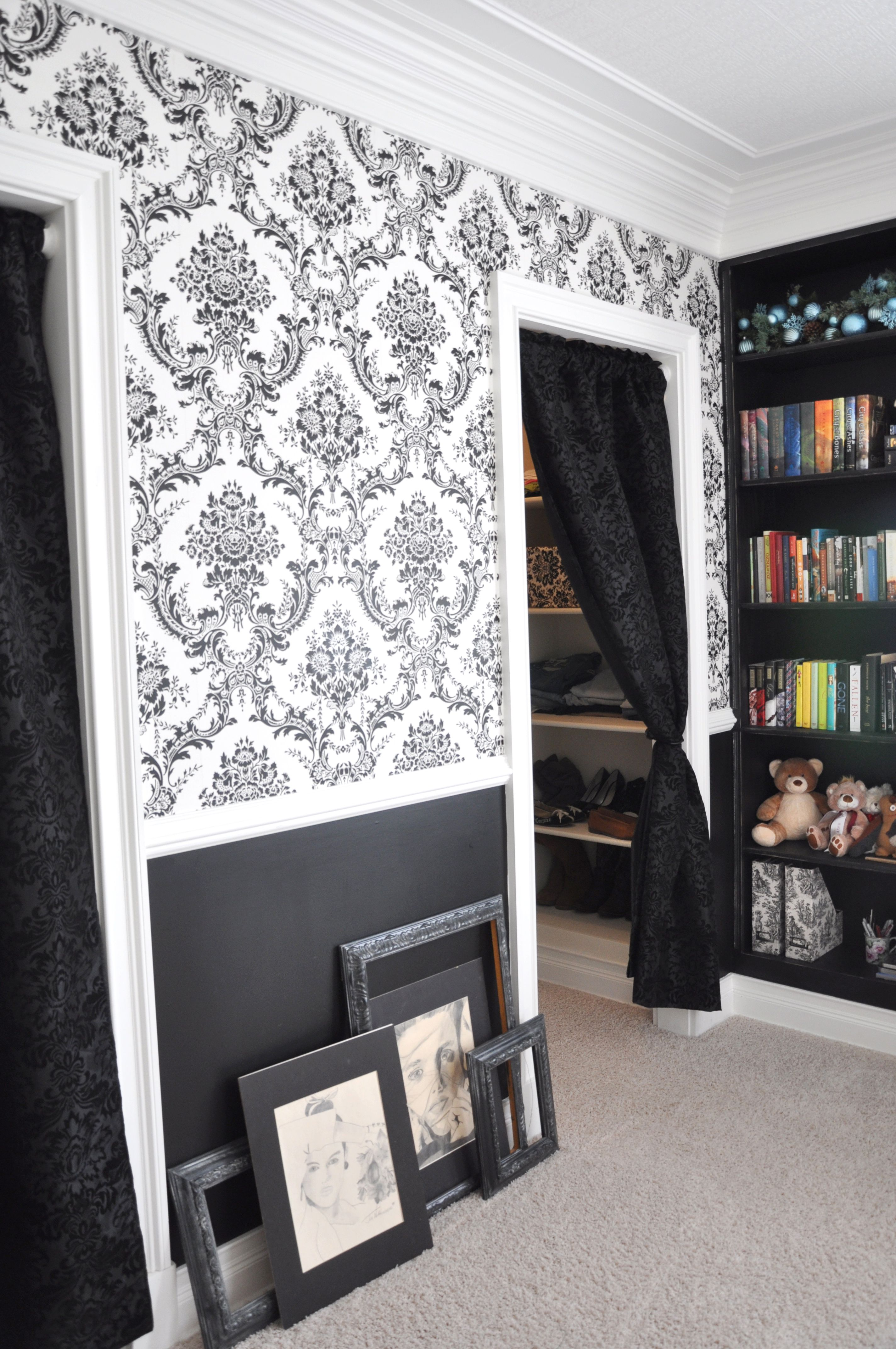 Teen Bedroom. Curtain For The Closet, I Would Love To Do That, Maybe
