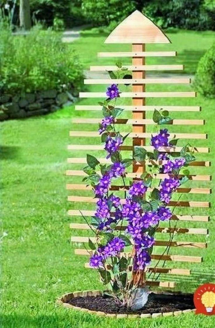 Home garden design flower  Fascinating Decoration Ideas For Your Home Garden  TRELLIS