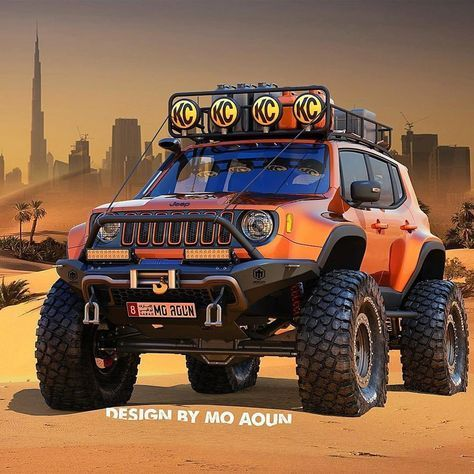 Definitely Just A Concept Jeep Renegade Jeep Wj Jeep Renegade