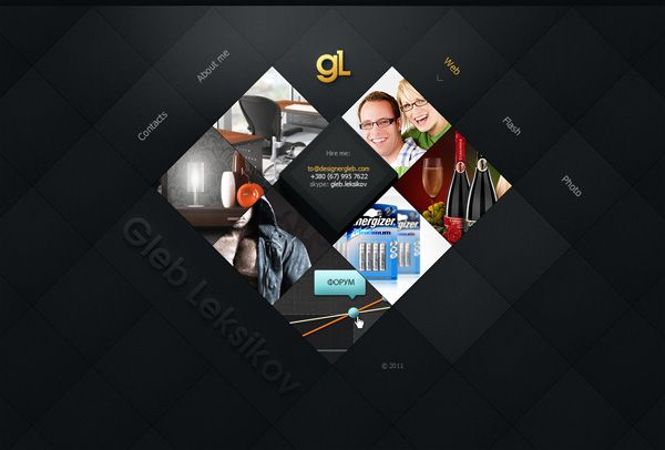 Dark Web Designs for Inspiration 29 | Web design / interface / UX ...