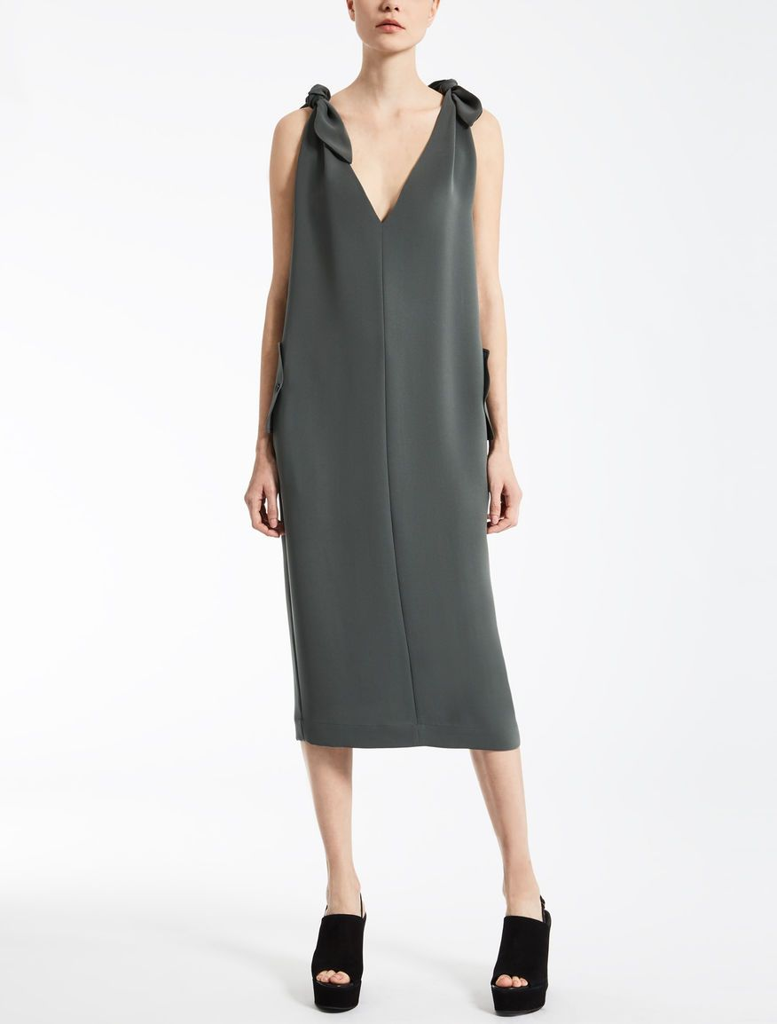 Max Mara ROSI sage green  Cady dress.  4f711750a0a