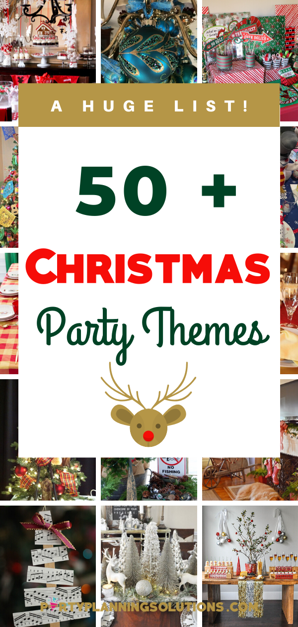 Even Christmas Party 2020 Celebrate with Over 50 Amazing Christmas Party Themes in 2020