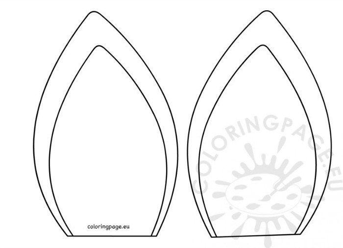 moldes orejas de unicornio