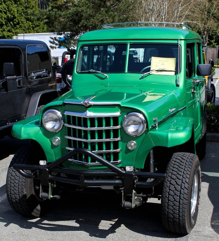 Green Willys Wagon - Google Search
