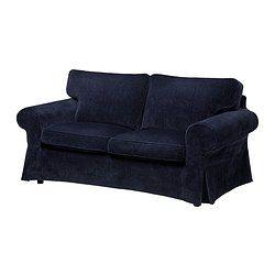 EKTORP 2:n istuttava sohva - Vellinge tummansininen - IKEA
