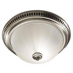 Broan 741sn Decorative Bathroom Fan Light 70 Cfm Satin Nickel