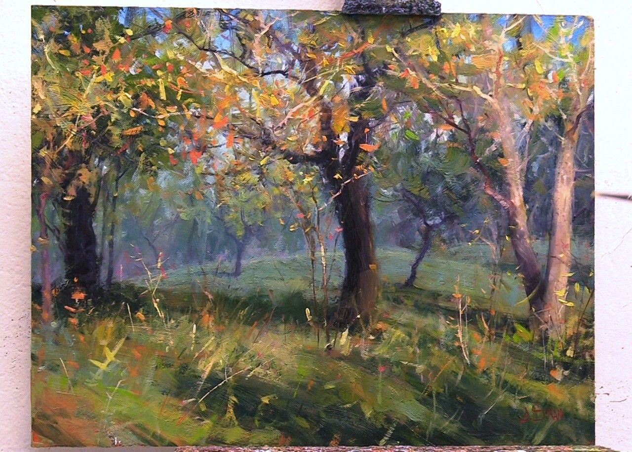 From Outdoor Painting To Studio Refinement Master Oil Painting Oil Painting Landscape Landscape Paintings Painting