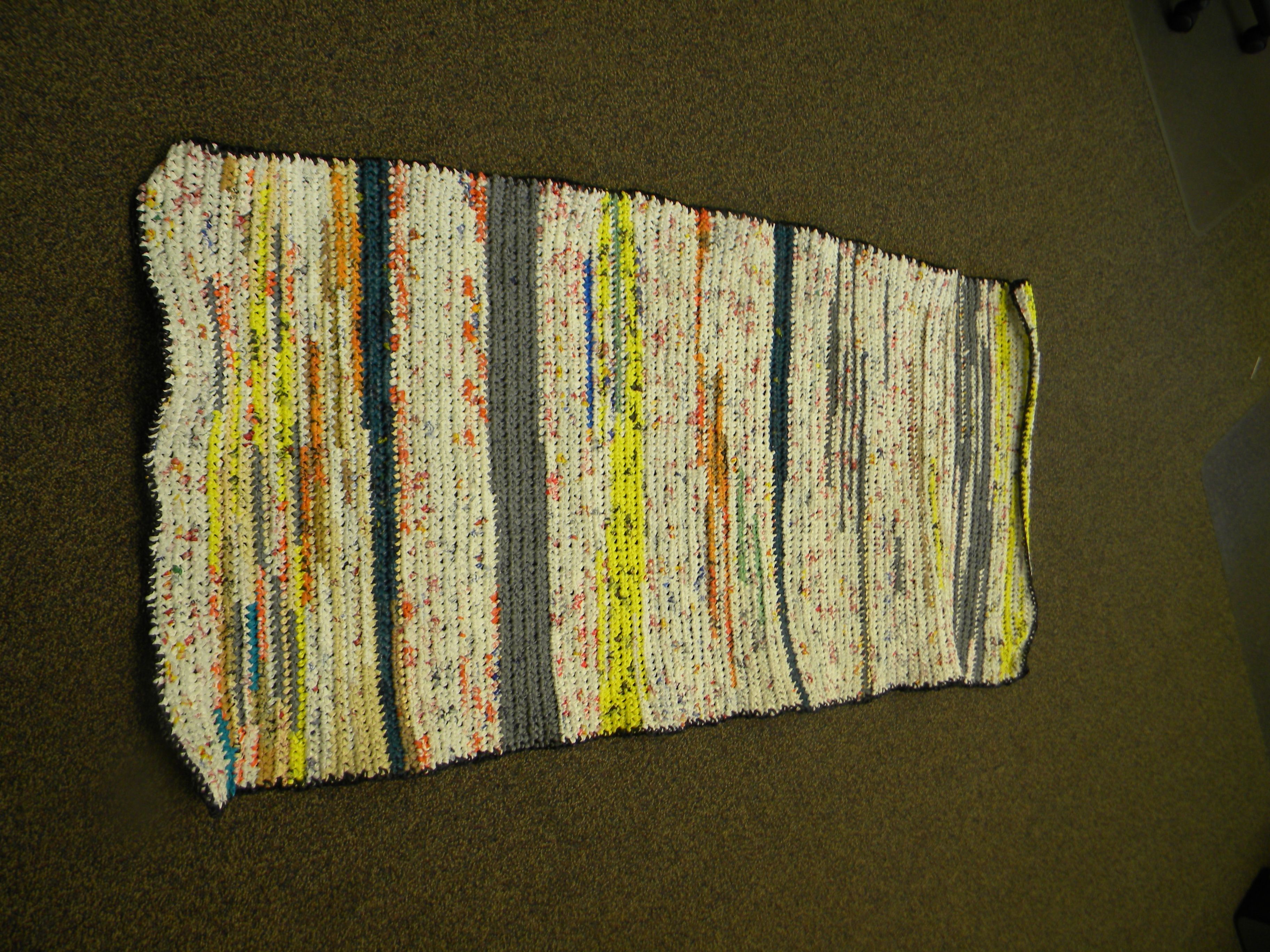 Craft For Humanity Crochet A Plarn Sleeping Mat For The Homeless Camping Mat Recycled Plastic Bags Camping Pillows