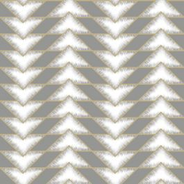 Photo of Teton Geometric Wallpaper Grey Holden 90531