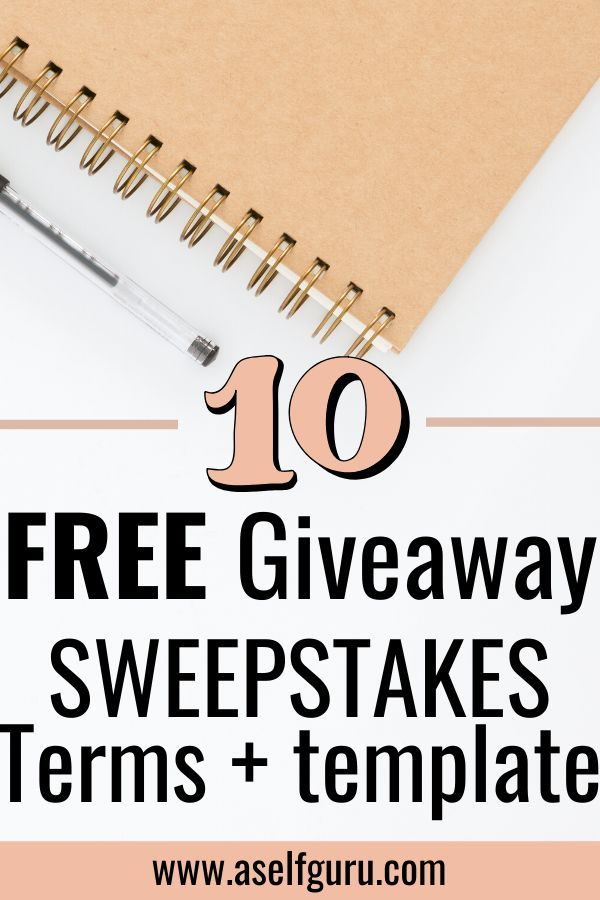 Sweepstakes Template Giveaways And Contest Terms And Conditions Sweepstakes Make Money Blogging Sweepstakes Giveaways