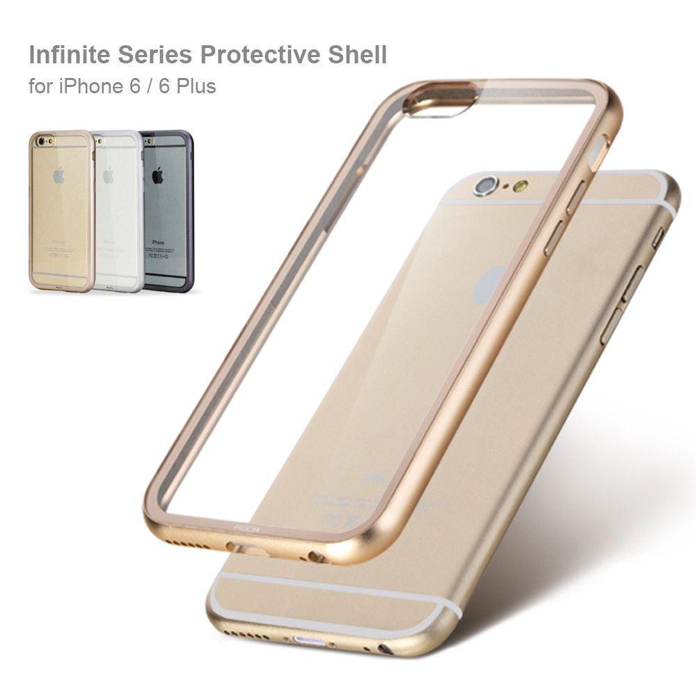 Details About For Apple Iphone 6 Plus Slim Real Metal Bumper Motorolla Moto E3 Power Casing Back Case Kasing Design 40 Transparent Clear Phone