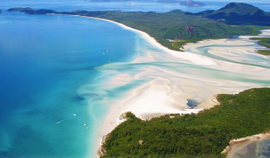 Best Beaches in the world 2014, Whitehaven Beach, Whitsunday Island, Australia -