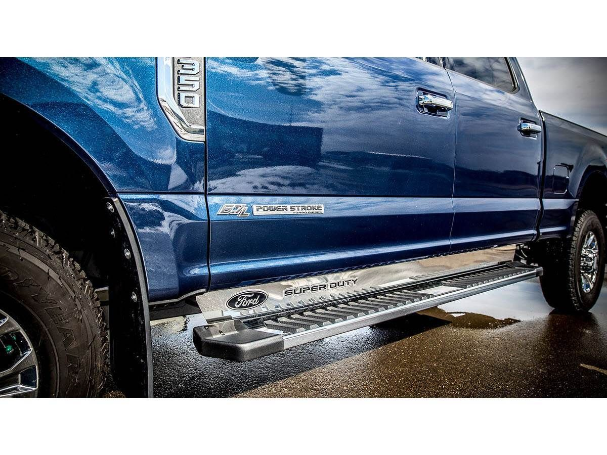 Truck Hardware Ford Logo Oem Step Bar Filler Ford Logo F250 Crew Cab