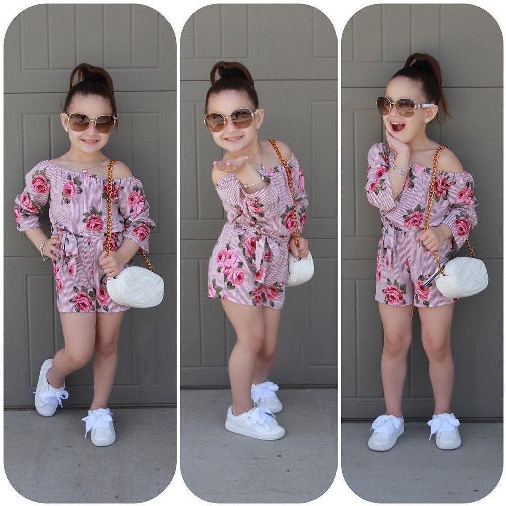 Girls Summer Outfit Girls Fall Outfit Girls Floral Outfit Girls Floral Romper Girls Pink Outfit Girls Fall Romper Girls Pink Romper