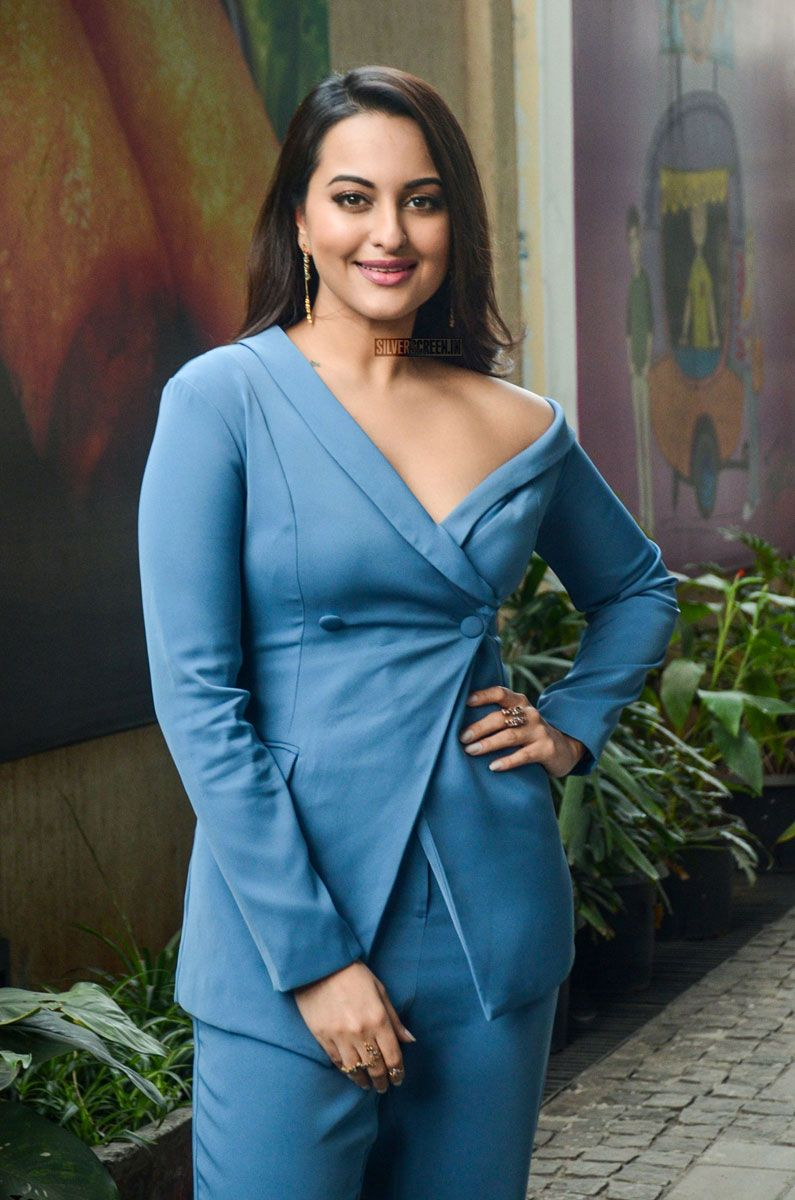 sonakshi sinha during the promotions of welcome to new york