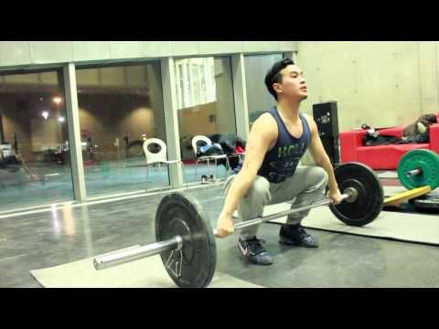 Olympic Weightlifting Workout Routine