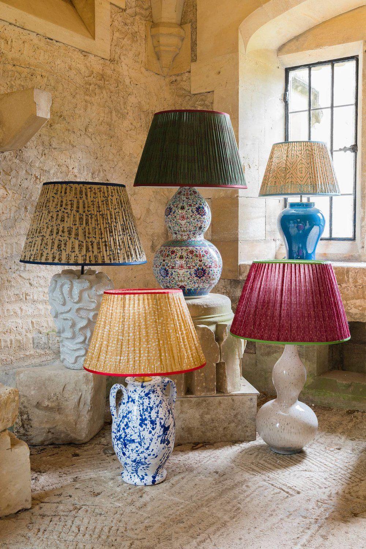 Lampshades Painting Lamp Shades Painting Lamps Pleated Lamp Shades