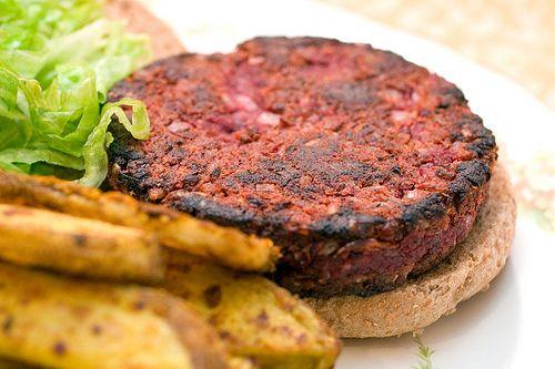 Quarter Pounder Beet Burger | Post Punk Kitchen | Vegan Baking & Vegan Cooking