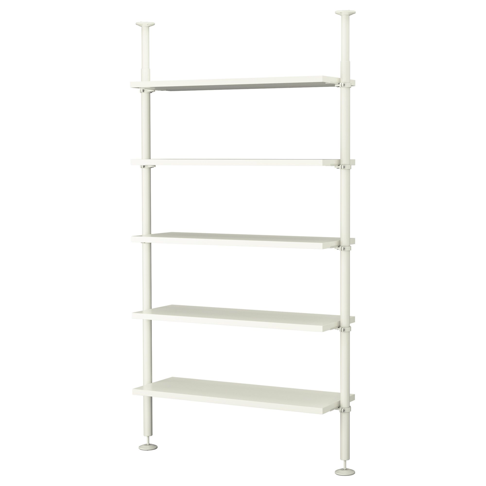 Adjustable Width Shelving Stolmen 1 Section White Shoe Rack Office Furniture And Shelves