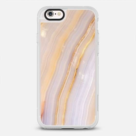 Casetify Purple & Gold Stripe Marble iPhone Case | Domino