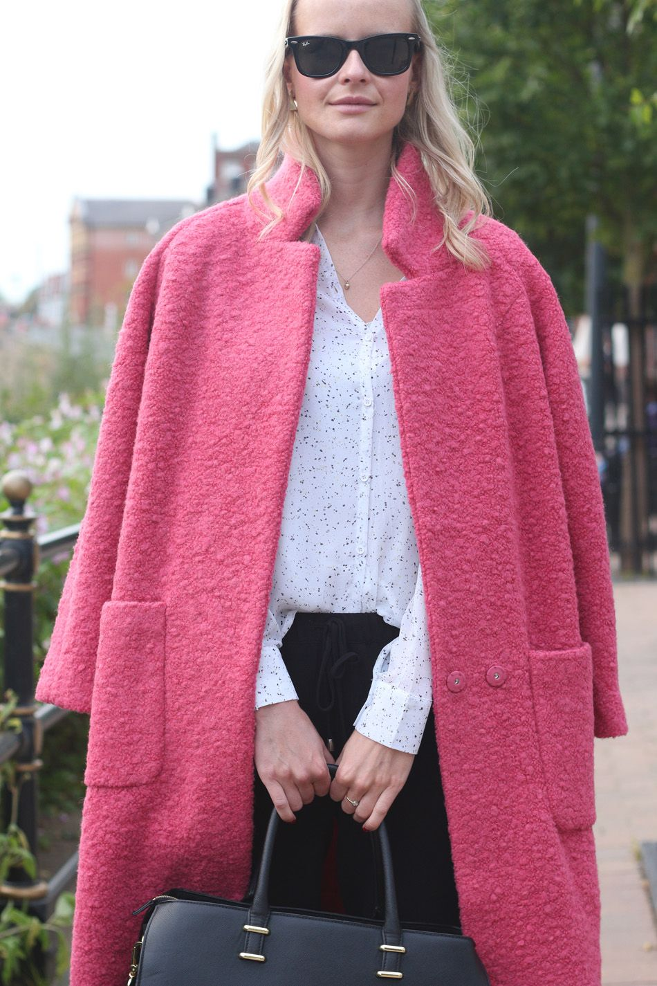 Ganni Pink Teddy Coat - Google Search | My Pink Coat | Pinterest ...