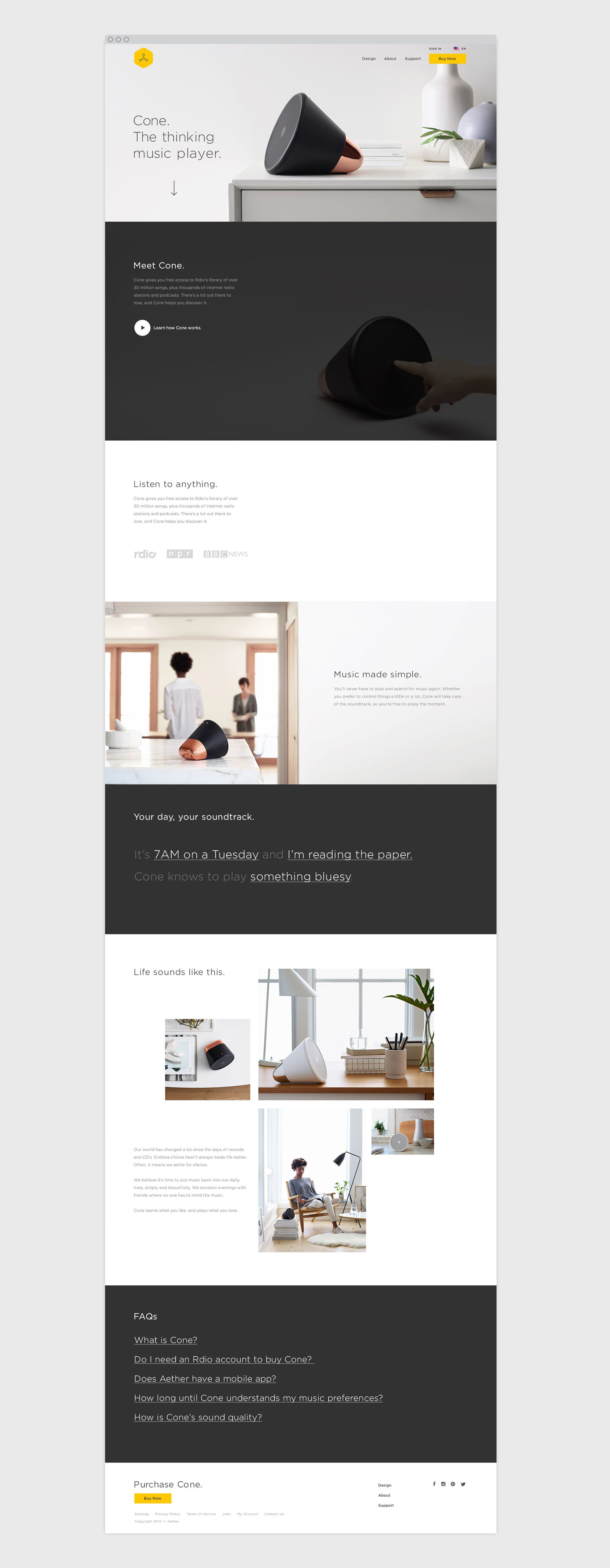 Cone By Character San Francisco A Branding And Design Agency With A Passion For Launching Rejuvenating And Propelling Brands Web Simple Web Design We