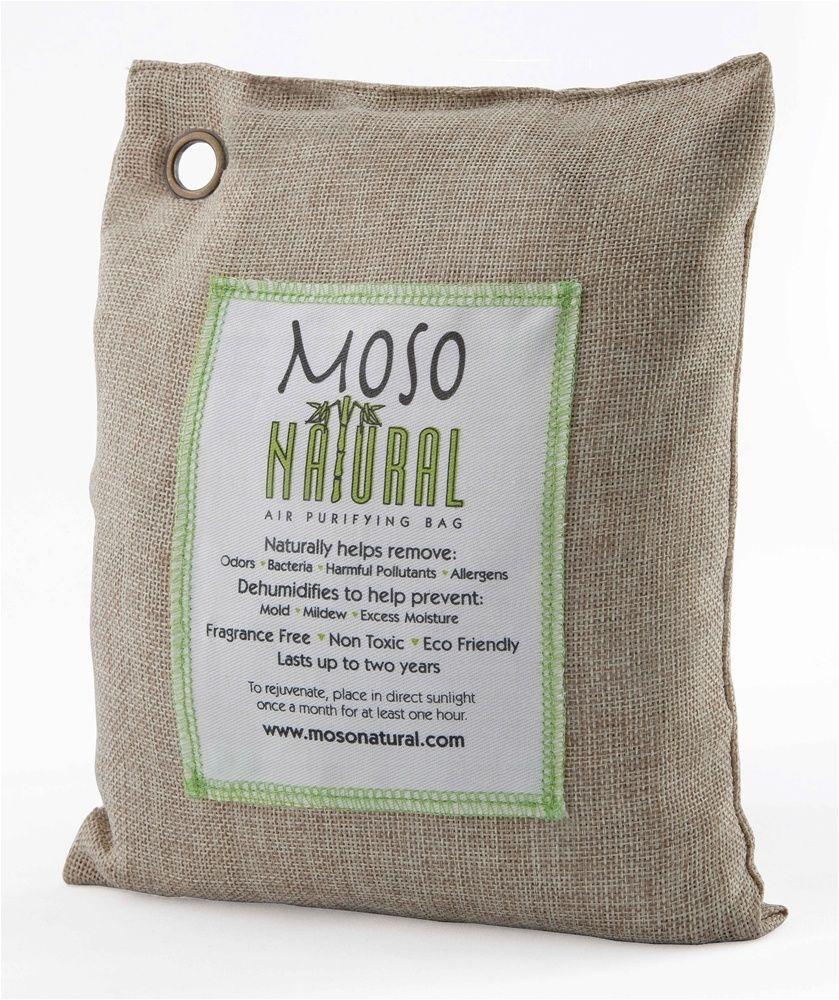 Moso Natural Air Purifying Bag Fragrance Free Natural