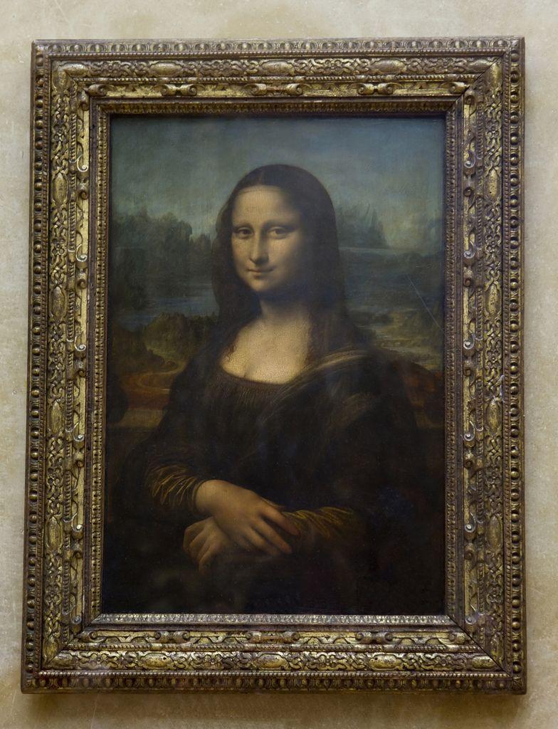 The Mona Lisa Musee Du Louvre Paris Mona Lisa Da Vinci