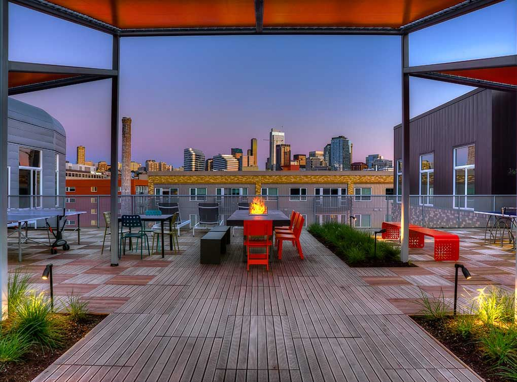 Downtown Seattle Apartments   Rooftop