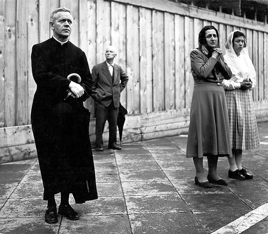 Italia de posguerra en las fotografías documentalista Gianni Berengo Gardin