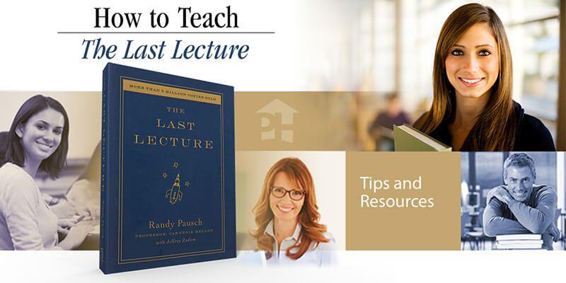 Lesson Plans The Last Lecture
