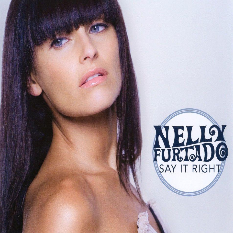 Nelly Furtado – Say It Right (single cover art)