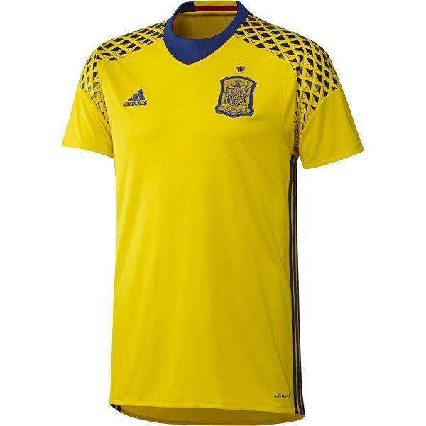 2917693b2f0f1 Comprar camiseta portero segunda equipación españa hombre online -  Competición - Tienda oficial Selección Española de Fútbol