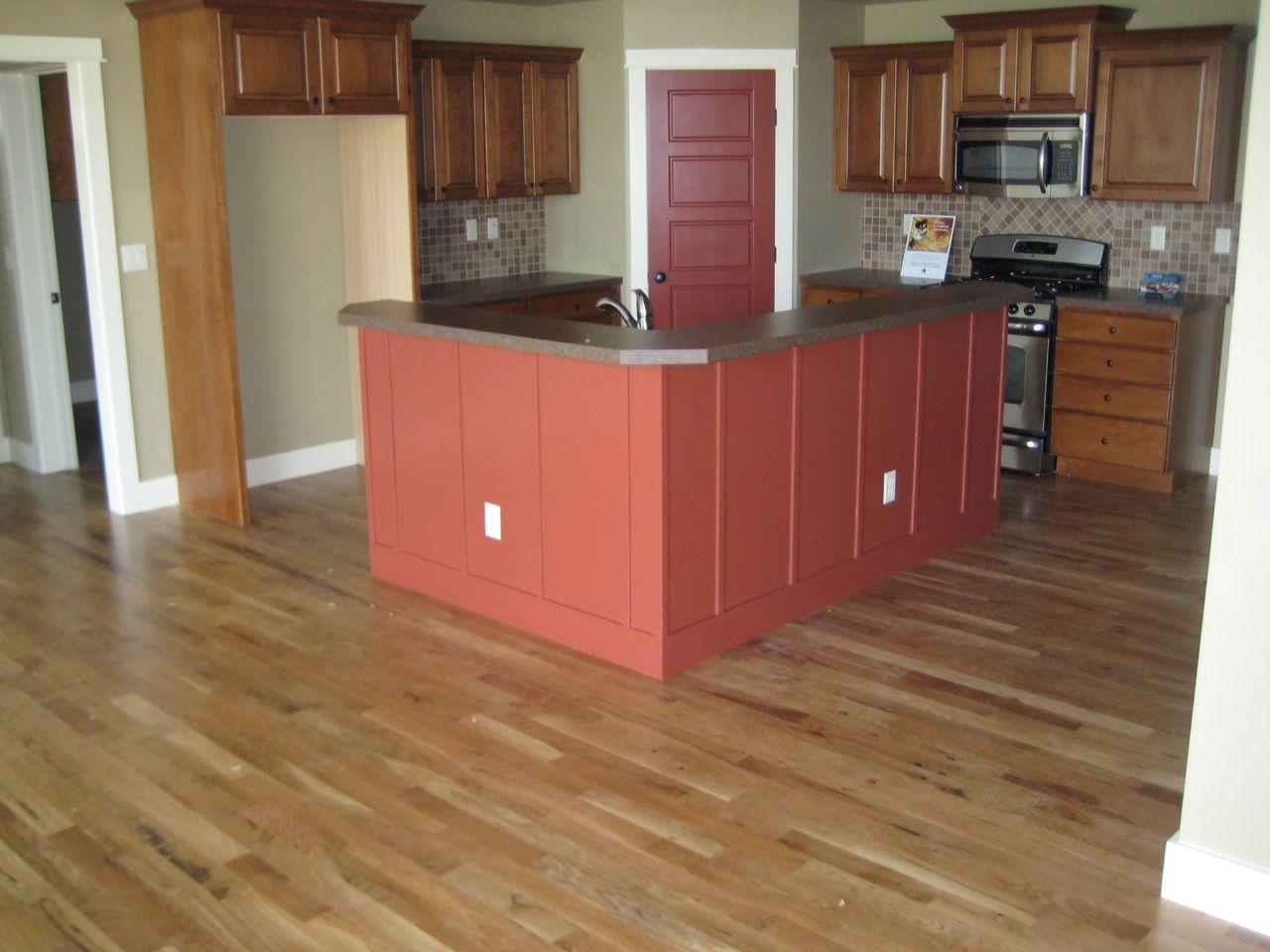 Capell Flooring And Interiors   Kitchen Boise Idaho New Construction White  Oak Flooring