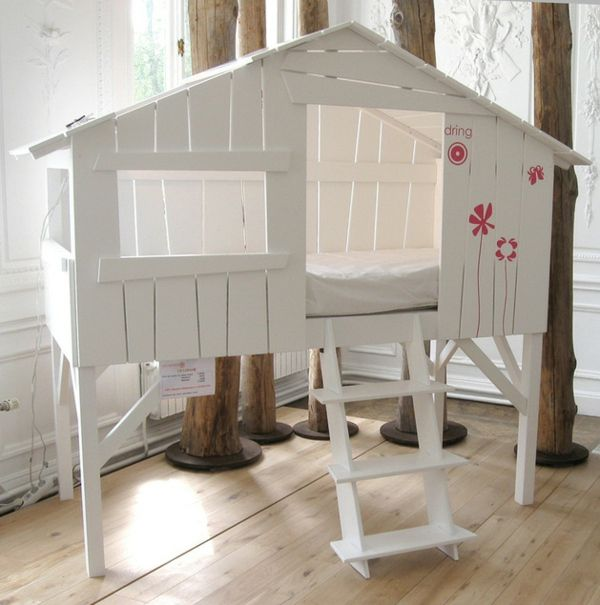 s es kinder bett m dchen blumen wandtattoo i nora pinterest kinder bett kinderzimmer. Black Bedroom Furniture Sets. Home Design Ideas