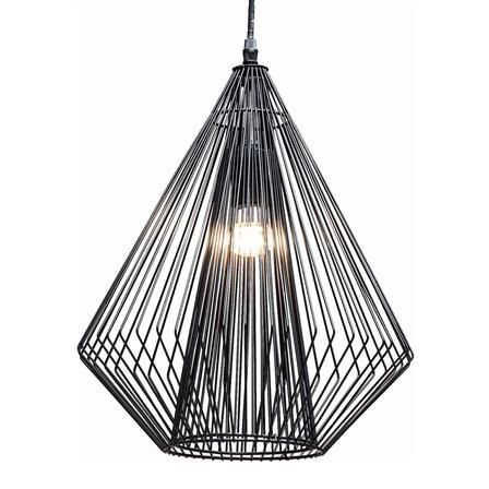Gustaf Modo Wire Pendant Lamp in Black | LIGHTING | Pinterest | Wire ...