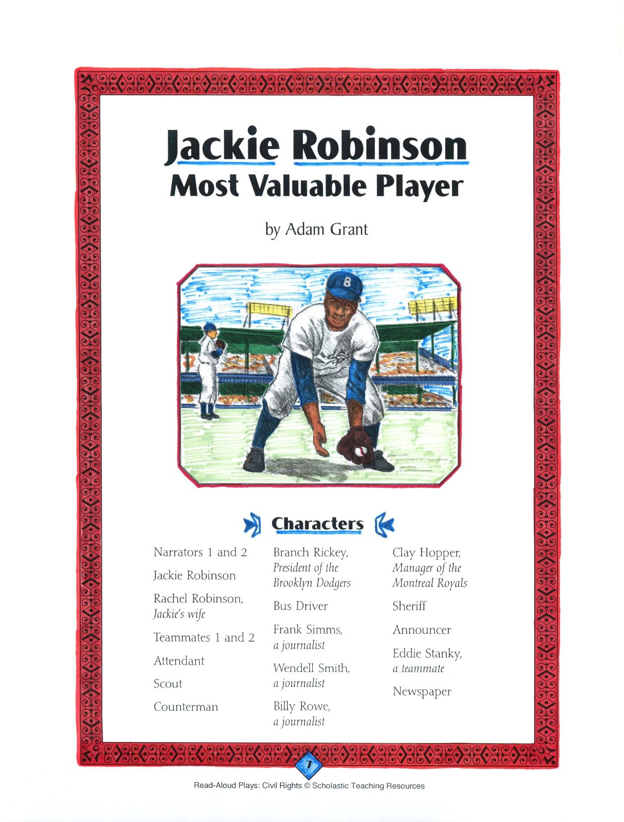 In This Stirring Read Aloud Play About Jackie Robinson