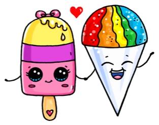 Glaces Vy Professionalnoe Iskusstvo Tak Chto Ya Kak Uchitel Dva Risunka Pomogayut Lyudyam Ne Znat Cute Cartoon Drawings Cute Food Drawings Cute Kawaii Drawings